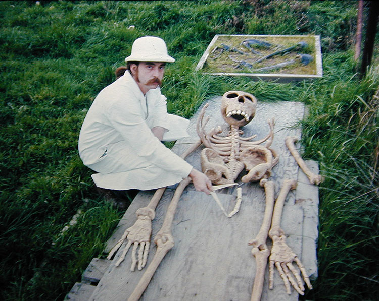 Bigfoot Skeleton